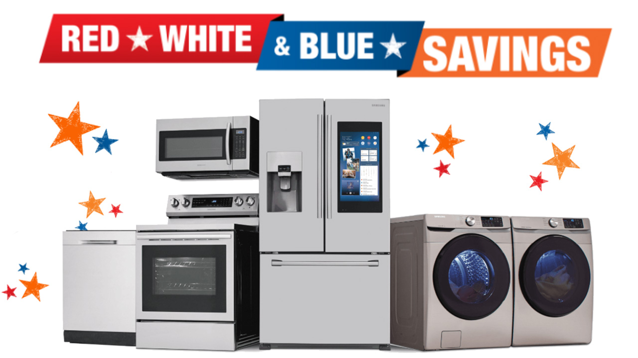 Home Depot 4th of July Appliance Sale 2020