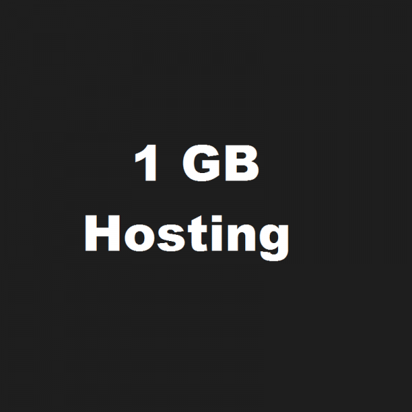 1 GB Disk Space