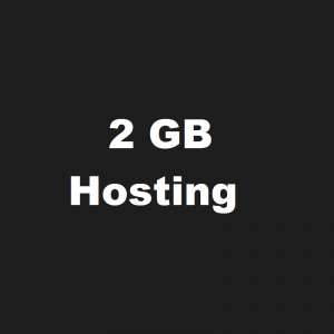 2 GB Disk Space